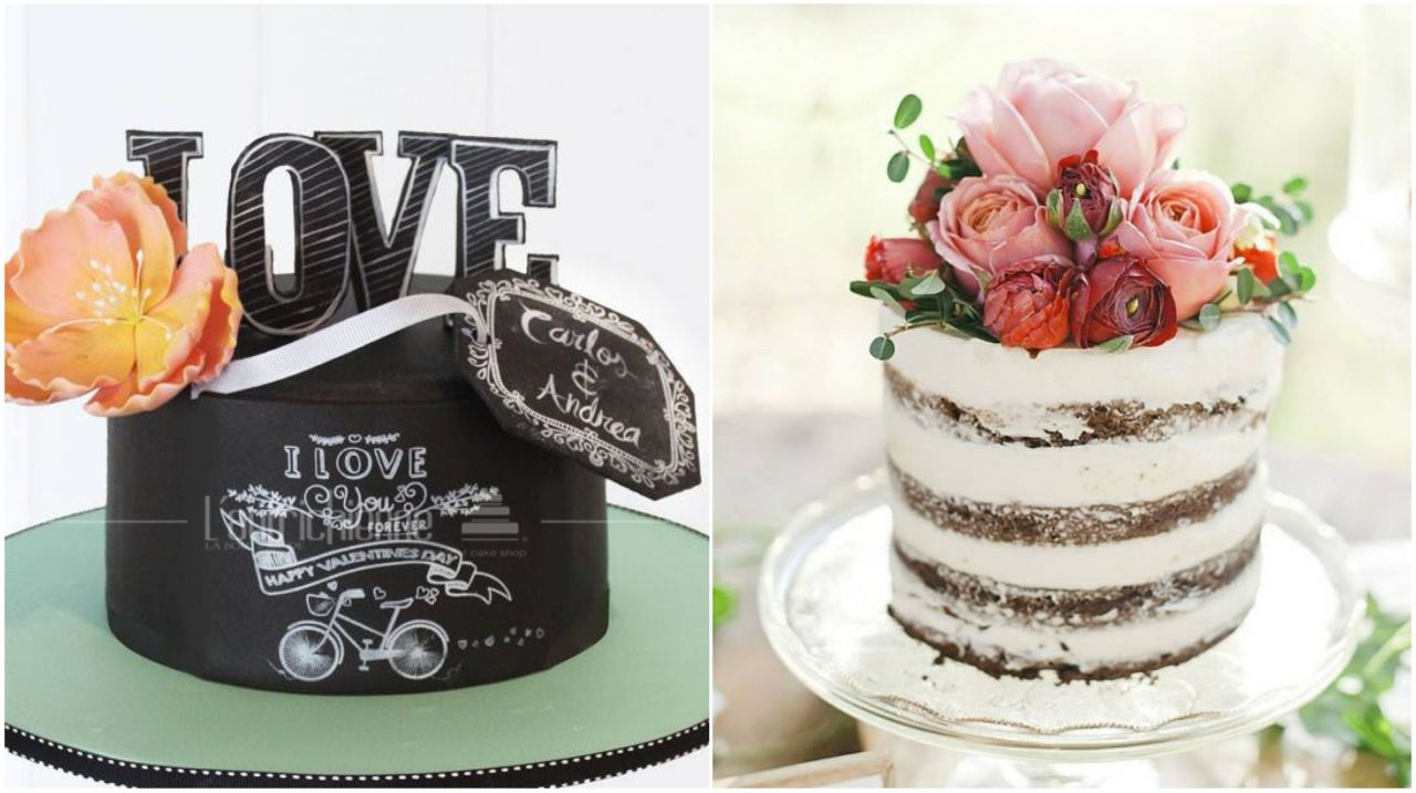 Tendencia en pasteles para bodas 2017 for Tendencia en decoracion 2016